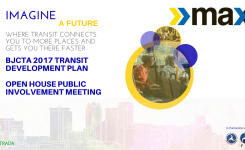 BJCTA 2017 Transit Development Plan Open House Public Involvement Meeting